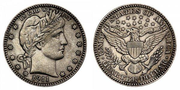 1911 Barber Quarter