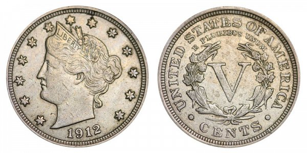 1912 Liberty Head V Nickel