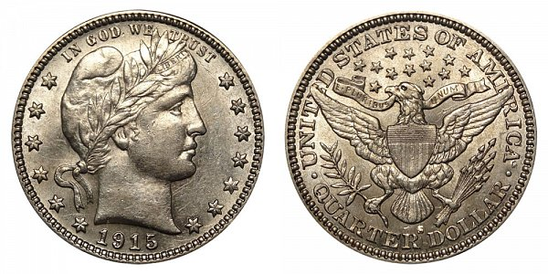 1915 S Barber Quarter