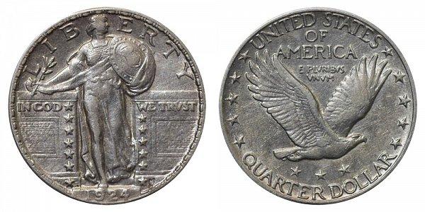 1924 S Standing Liberty Quarter