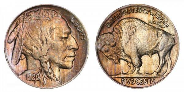 1926 Indian Head Buffalo Nickel