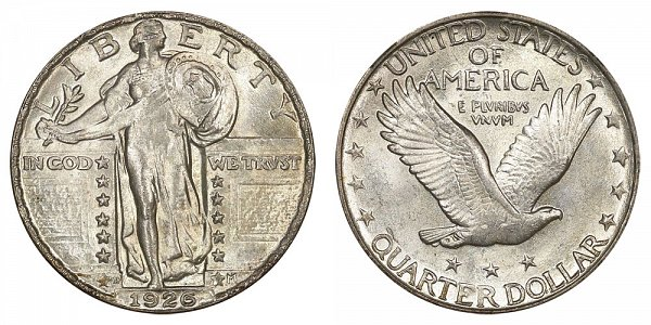 1926 D Standing Liberty Quarter