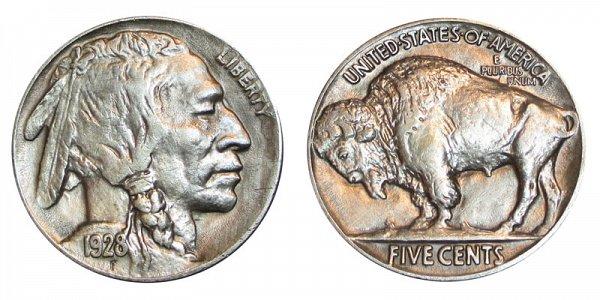 1928 Indian Head Buffalo Nickel