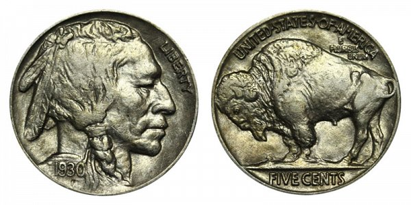 1930 Indian Head Buffalo Nickel