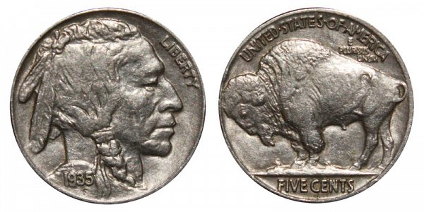 1935 Indian Head Buffalo Nickel