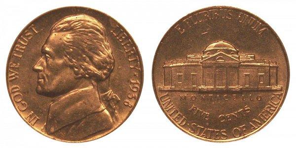 1938 Jefferson Nickel