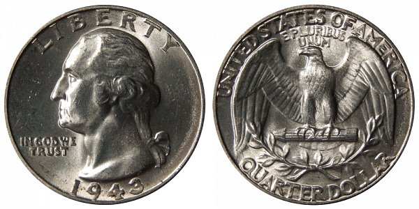 1943 Washington Silver Quarter