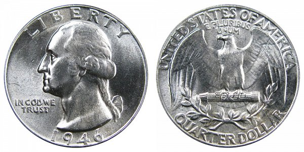 1946 Washington Silver Quarter