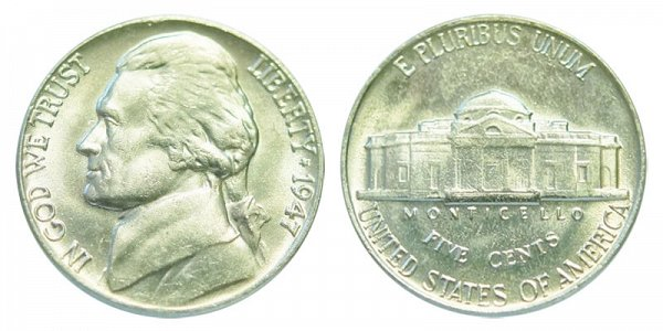 1947 Jefferson Nickel
