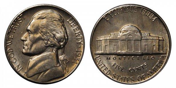 1951 S Jefferson Nickel