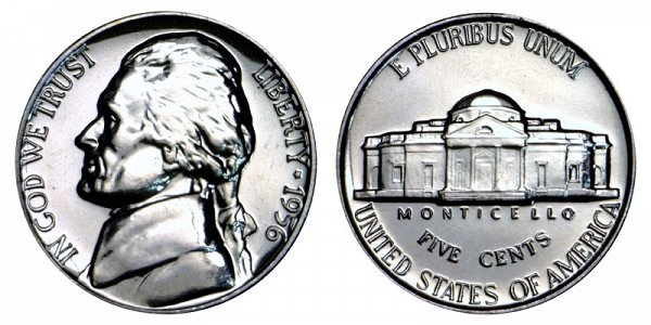 1956 Jefferson Nickel