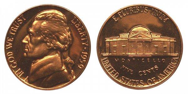 1959 Jefferson Nickel