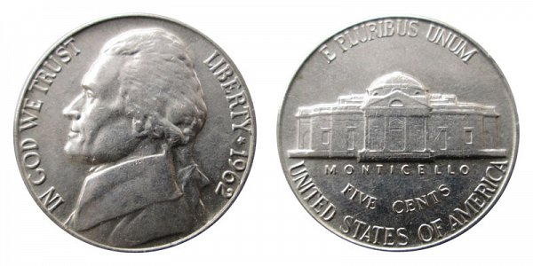 1962 Jefferson Nickel