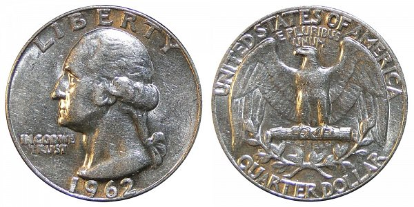 1962 Washington Silver Quarter