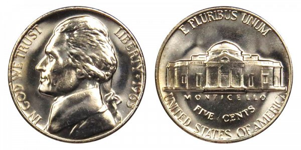 1965 Jefferson Nickel