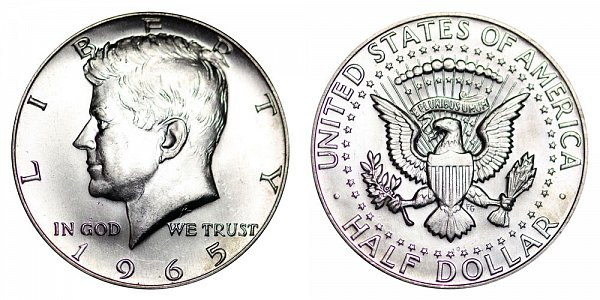 Kennedy Half Dollars 40% Silver Composition US Coin