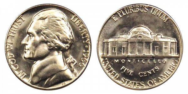1966 Jefferson Nickel