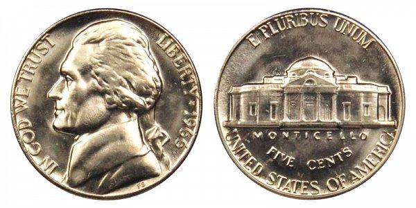1966 Jefferson Nickel