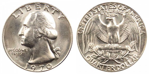 1970 D Washington Quarter