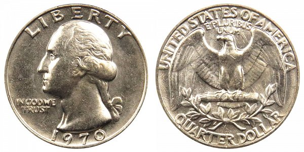 1970 Washington Quarter