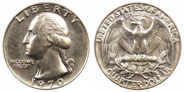 1970 Washington Quarter