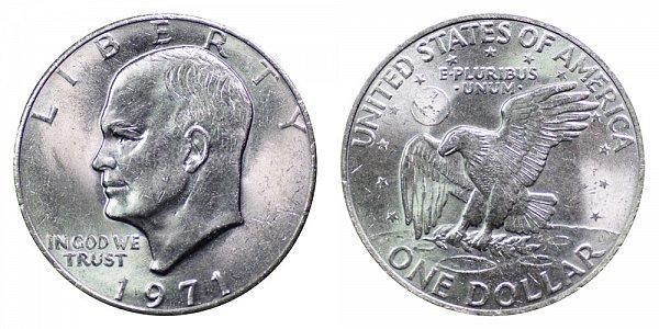 1971 Eisenhower Ike Dollar
