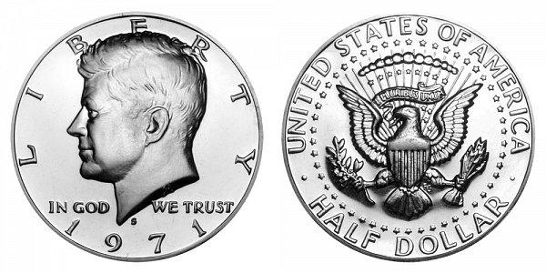 1971 S Kennedy Half Dollar Proof