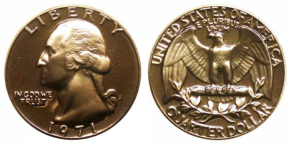 1971 S Washington Quarter Proof