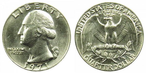 1971 Washington Quarter
