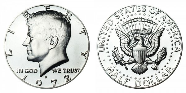 1972 S Kennedy Half Dollar Proof