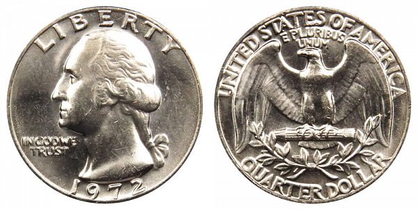 1972 Washington Quarter