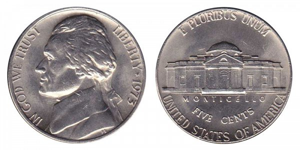 1973 Jefferson Nickel