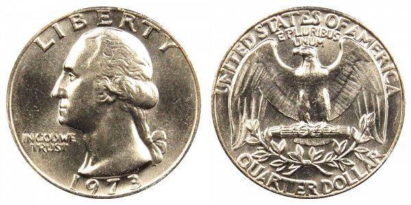 1973 Washington Quarter