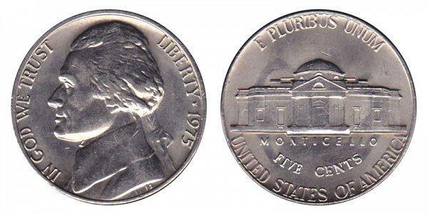 1975 Jefferson Nickel