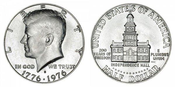 1776-1976 S Bicentennial Kennedy Half Dollar - 40% Silver Uncirculated Edition