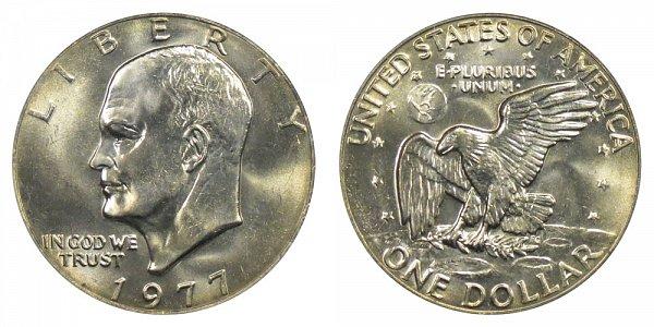 1977 Eisenhower Ike Dollar