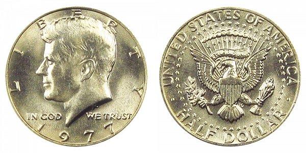 1977 Kennedy Half Dollar