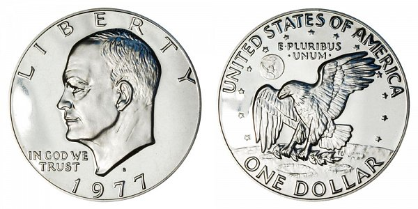 1977 S Eisenhower Ike Dollar Proof