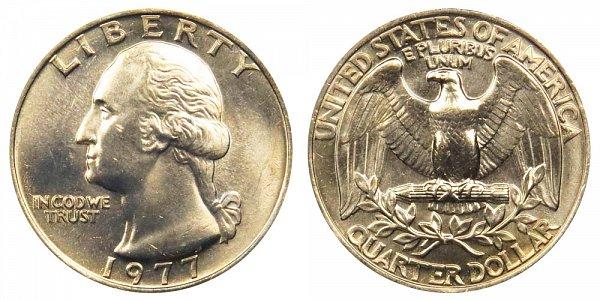 1977 Washington Quarter