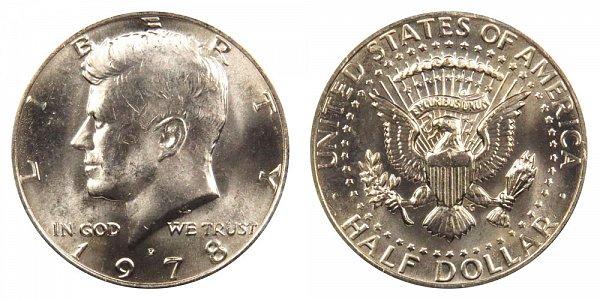 1978 D Kennedy Half Dollar