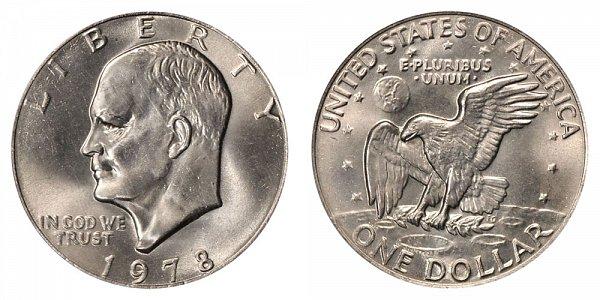 1978 Eisenhower Ike Dollar