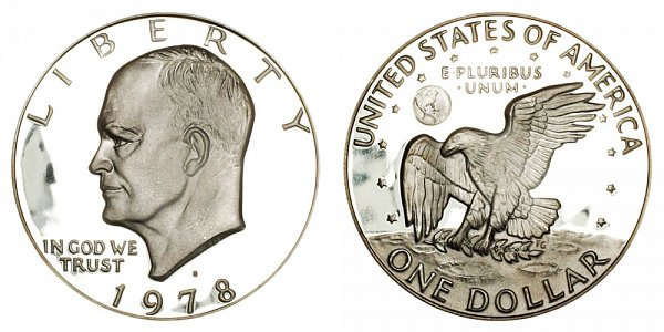 1978 S Eisenhower Ike Dollar Proof
