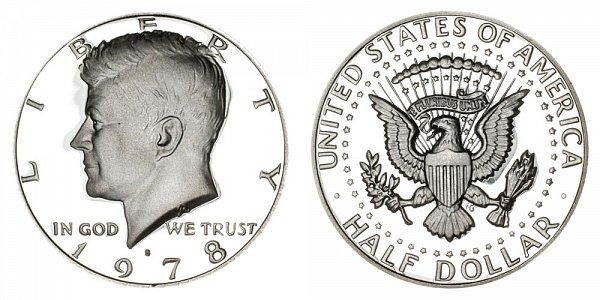 1978 S Kennedy Half Dollar Proof