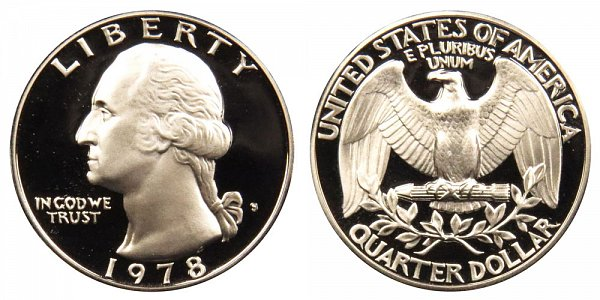 1978 S Washington Quarter Proof