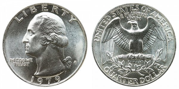 1979 D Washington Quarter