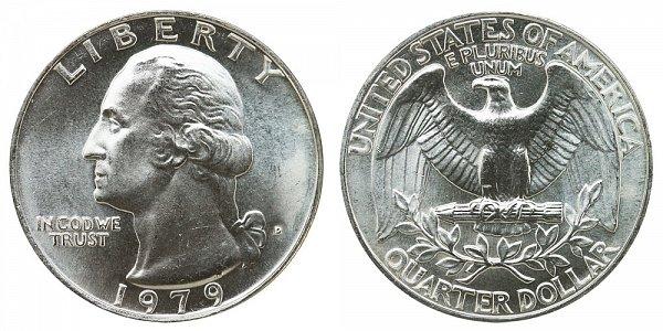 1979 D Washington Quarter