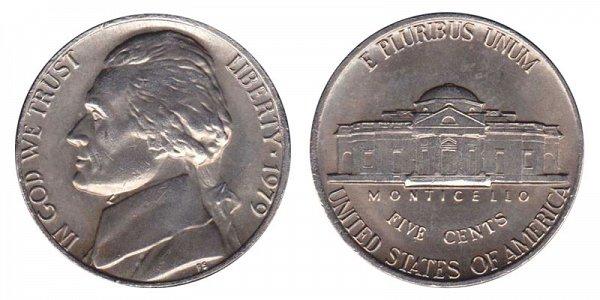 1979 Jefferson Nickel