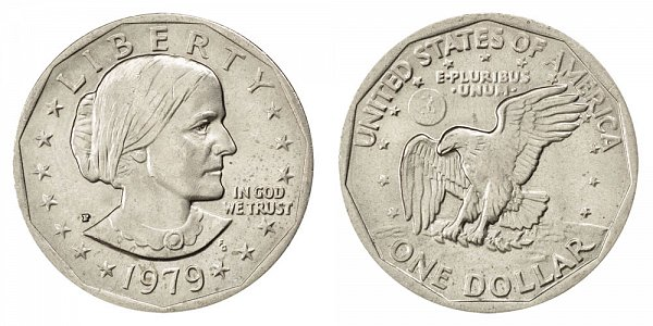 1979 P Susan B Anthony SBA Dollar - Narrow Rim