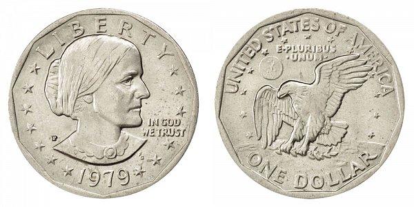 1979 P Susan B Anthony SBA Dollar - Narrow Rim