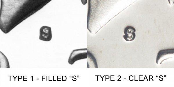 1979 S Kennedy Half Dollar - Type 1 vs Type 2